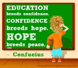 Confucius Quotes On Education. QuotesGram