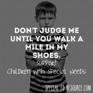 Support Children With Special Needs. While special education labels ...