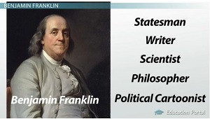 Benjamin Franklin accomplished many things during his life.