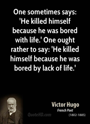 Bored With Life Quotes