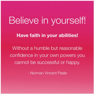 peale quotes with images | Best Life Quote: Believe in Yourself ...