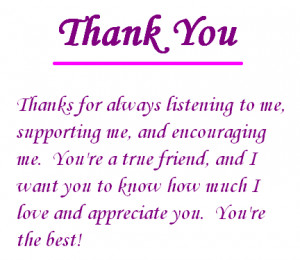 ... for all your love and support and prayers it means a lot thank you 3