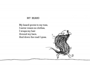Beard Of The Day – May 14 – Shel Silverstein