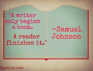 Writing inspiration from Samuel Johnson and Figment