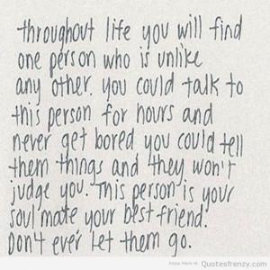 Soulmate Friend Quotes Soulmate friend quotes