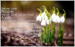 Quotes About Never Giving Up On Your Dreams