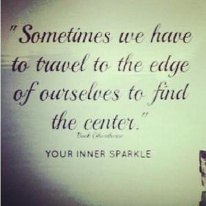 truth #self #center #quote