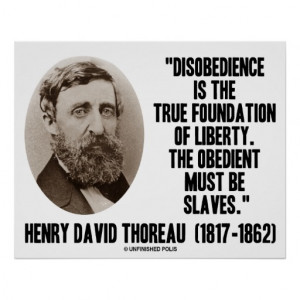 Thorough essay on civil disobedience