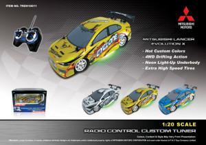 20 MITSUBISHI LANCER EVOLUTION X R C Drift Car
