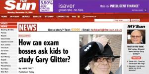 Gary Glitter Sun story