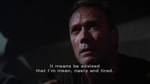 Heartbreak Ridge Gunny Highway Quotes