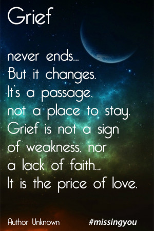 grief is like the ocean vicki harrison quotes sayings pictures jpg