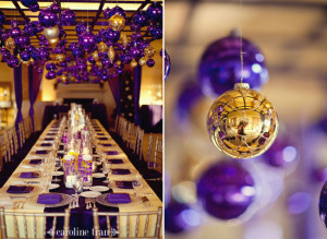 with purple amp gold ornaments this posh purple tree is just purple ...