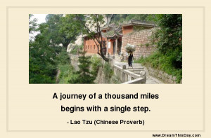 Lao Tzu (Chinese Proverb)