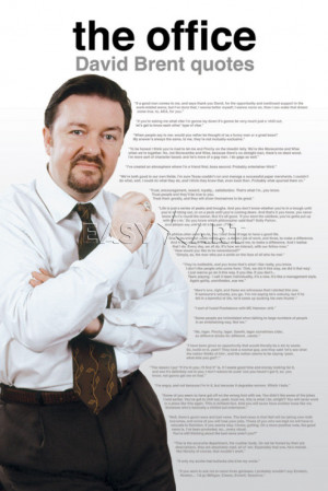The Office (David Brent Quotes)