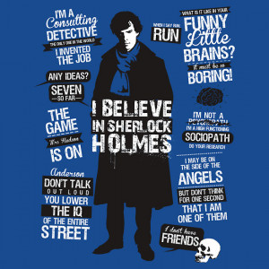 Sherlock Quotes by Tom Trager