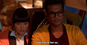 Utkarsh Ambudkar as Donald in Pitch Perfect... he looks best with ...