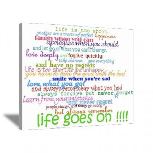 CafePress > Wall Art > Canvas Art > COLERED 12 STEP SAYINGS Canvas Art