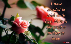 Love Rose Quotes Wallpapers