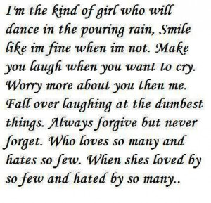 quote that describes me.