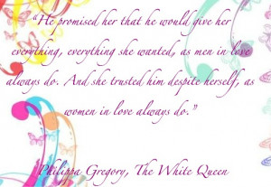Philippa Gregory quote