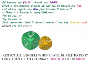 gender equality - human-rights Fan Art