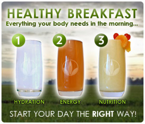 Healthy Breakfast with Herbalife