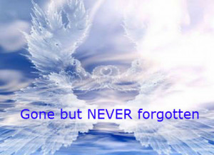 Gone, but never forgotton