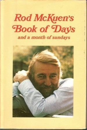 Rod McKuen's Book of Days: and a month of sundays