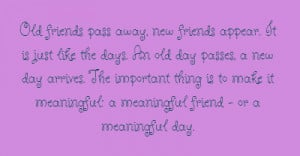 Friend Passed Away Quotes