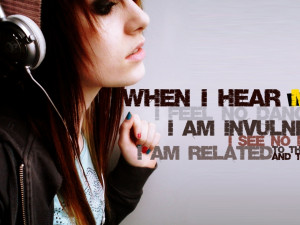 Music Is My Life Quotes Meaning Wallpaper with 1280x960 Resolution