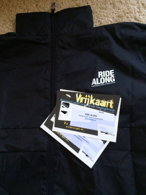 Ride Along tickets and jacket that I've won