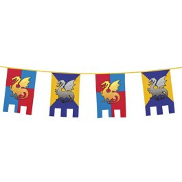 Medieval Knights and Dragons Bunting
