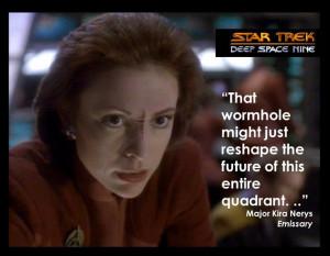 One of Star Trek's prophetic quotes?