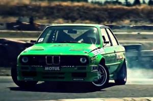 Old BMW Drift Car