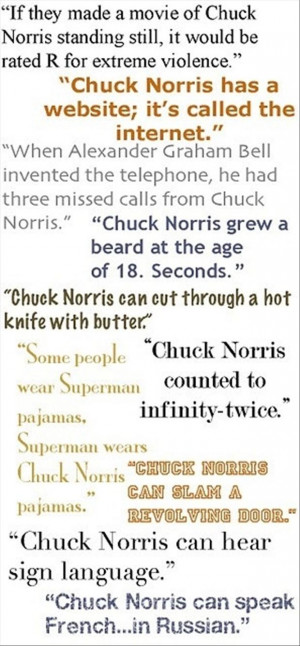 funny chuck norris quotes