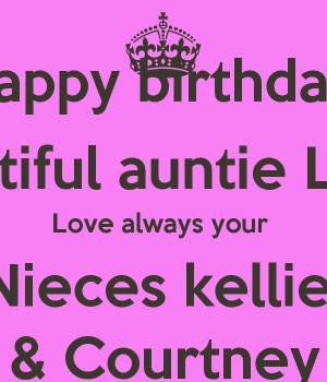 Happy Birthday Beautiful Niece