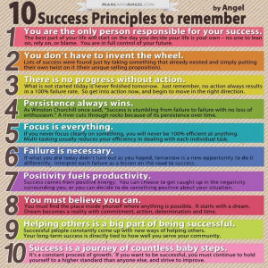... , here's Life Hack's 10 success principles you need to remember