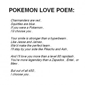 poems new relationships