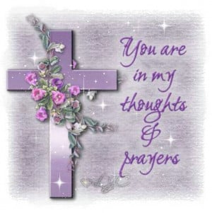 You're in My Thoughts & Prayers