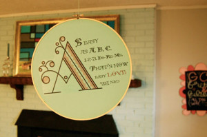 this fun guest diy project comes from brooke premo , whose whimsical ...