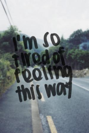 Tired of feeling tired