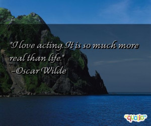 Quotes about Acting