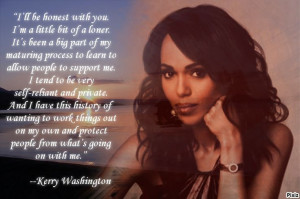 kerry washington quote created by annette h evelyn