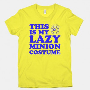 This is My Lazy Minion Costume #minion #costume #lazy #halloween # ...