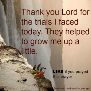 Thank you Lord...