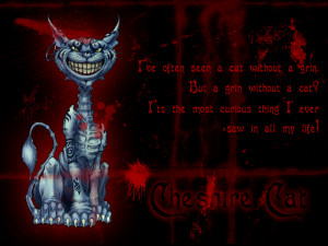 Alice Madness Returns Cheshire Cat Quotes Cheshire cat wallpaper with