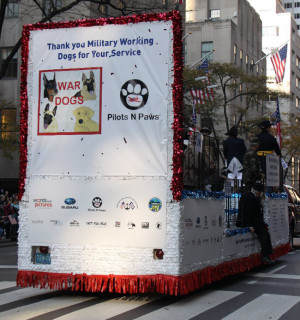 ... Pictures Marches to a Different Drummer with Veterans Day Float Design