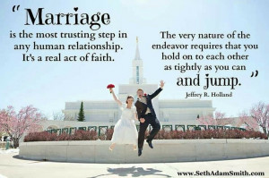 Marriage, lds quotes: Marriage Quotes, Hold On, Church, Anniversaries ...