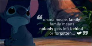 ... you would like family has the same meaning no matter what family means
